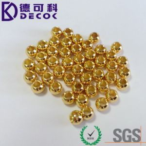 10mm Rose Gold Plated Balls with 2mm 3.5mm Through Hole pictures & photos