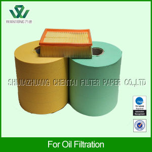 Phenolic Cured Oil Filter Paper for Truck