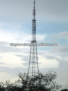 China Manufacturer Communication Steel Tower