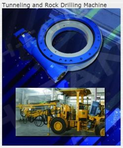 Slewing Drive Used for Tunneling & Rock Drilling Machine (M25 Inch) pictures & photos