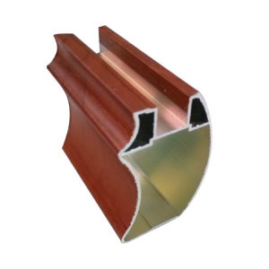 Aluminium Clading PVC Profile for Home Furniture pictures & photos