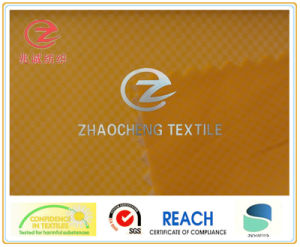 380t 0.2 Twill Ribstop Poly Taffeta Downproof Coating Fabric (ZCGF054)