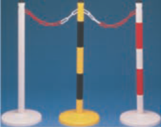 Round Base Protection Bars with Warning Signs (881968)