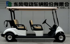 Dongfeng Electric Vehicle of Golf Cart with 4 Seater pictures & photos