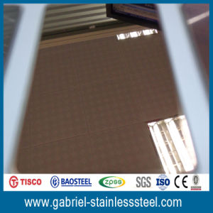 304 Color Corrugated Stainless Steel Sheet pictures & photos