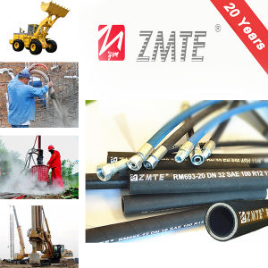 Zmte R13 Competetive Price Flexible Hydraulic Rubber Hose pictures & photos
