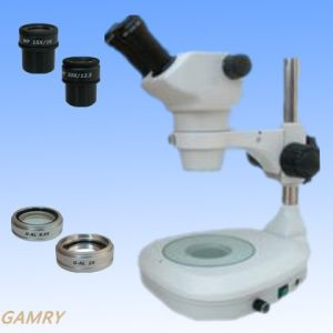 Stereo Zoom Microscope Jyc0850 Series with Different Type Stand pictures & photos