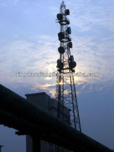 Telecommunication Angle Steel Lattice Antenna Tower