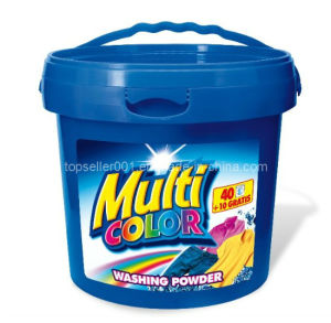 Super-Concentrated Detergent Powder in Small Bucket pictures & photos