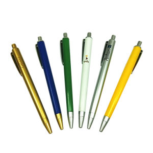 Cheap Plastic Ball Pen for Office or Promotional Use pictures & photos