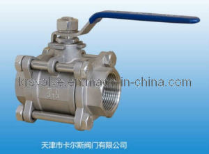 3PC Thread Ball Valve Q11f-10