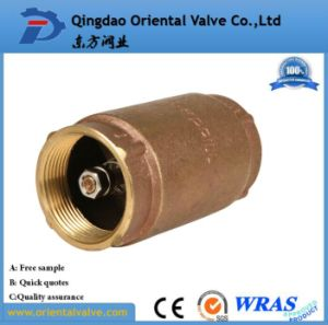"1-1/2"" Inch Durable Professional Low Price Brass Spring Check Valve Brass Non pictures & photos"