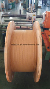 Fiber-Glass Single Wrapping Enamelled Round Copper Wire pictures & photos