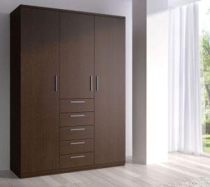 Cheap Corner Cozy 3 Door Bedroom Wardrobe Design pictures & photos