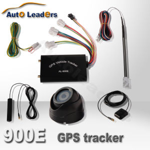 GPS/GPRS/GSM Vehicle Tracker With Camera, Fuel Sensor and LCD 900E