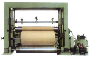Kraft Paper Rewinding Machine, Jumbo Roll Cutting Equipment pictures & photos