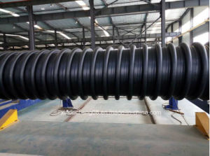 HDPE Double Wall Large Caliber Winding Pipe Production Line pictures & photos