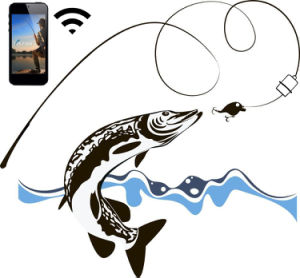 Visible Camera System WiFi Underwater Fishing Finder pictures & photos