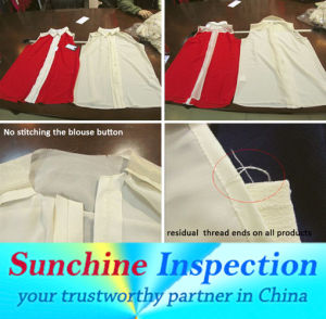 Garment Inspection Service in All China / Sunchine Inspection Third Party Inspection Company pictures & photos
