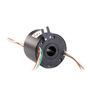 Practical Through Bore Slip Ring with 25.4mm Hole Low Torque (LPT025-0610)