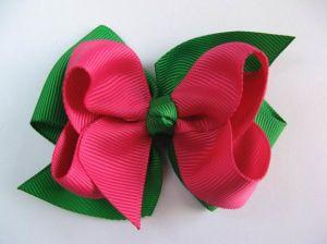 X′mas Accessory,Holiday Ornament,Christmas Hair Bows (HS-031)