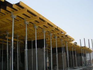 Concrete Formwork System and Shoring, for Slab Construction