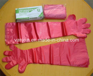 Disposable LDPE Veterinary Long Sleeve Glove