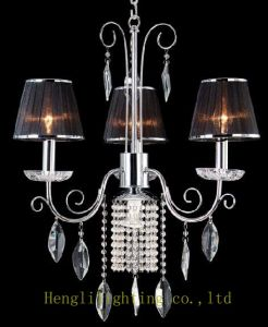 Cloth Shade Chandelier HLH-22069/3+1