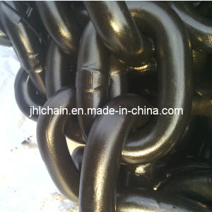 DIN766 Black Painted Open Link Chain/G80 Steel Link Chain