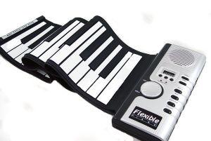 61 Keys Roll Up Piano Keyboard