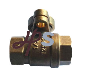 Full Port Brass Lockable Ball Valve pictures & photos