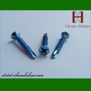 Screw/High Quality Countersunk Head Self-Drilling Screw pictures & photos
