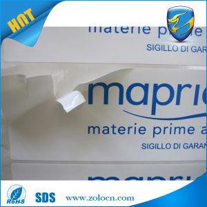 Warranty Void Screw Label Self Adhesive Labels Anti Scratch Eggshell Label Sticker