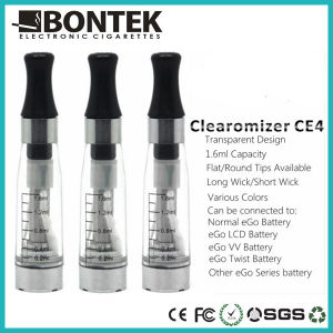 Cigarette Electronic Clearomizer Ce4, High Quality Clearomizer Ce4, Clear Atomizer pictures & photos