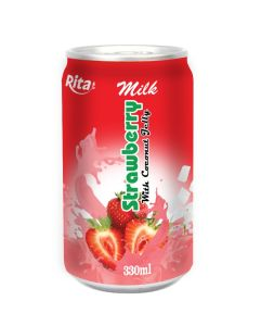 Strawberry Milk with Coconut Jelly pictures & photos