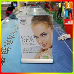 A3 A4 Aluminum Desk Mini Roll up Banner pictures & photos