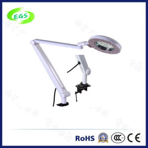 High Quality Clamp Magnifier Lamp with Light in All Departments (EGS-200D) pictures & photos