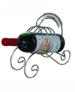 China arts and crafts shaped wine rack wire forming metal for Arts and crafts wine rack