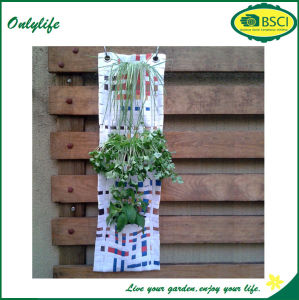 Onlylife Handmade Creative Hanging Vertical Garden Oxford Wall Planter pictures & photos