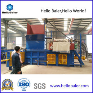Horizontal Cardboard Baling Press Recycling Machine with Siemens PLC pictures & photos