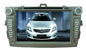 2 DIN 6.2 Inch Car DVD Player for Toyota-Corolla