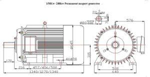 150kw~200kw-1500rpm 1800rpm Permanent Magnet Generator pictures & photos