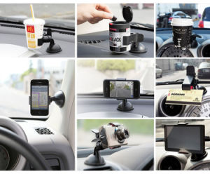 360 Degree Rotating Universal Phone Mount Car Holder for Mobile Phone GPS Car Holder