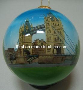 London Bridge (glass ball with inside painting)