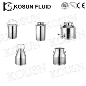 Stainless Steel Food Grade Milk and Laboratory Polished Flask pictures & photos
