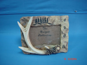 Resin Antler Photo Frame (SF1157)
