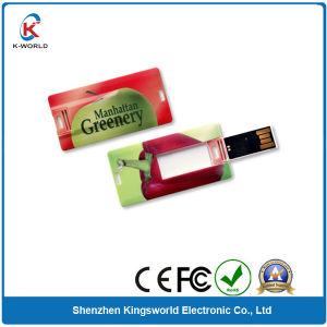 Mini Plastic Credit Card USB Flash Memory