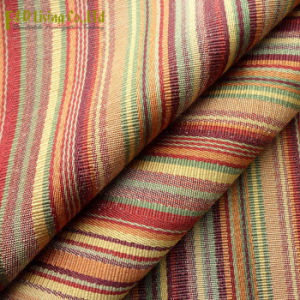 Stripes Dobby Woven Drapery Upholstery Fabric