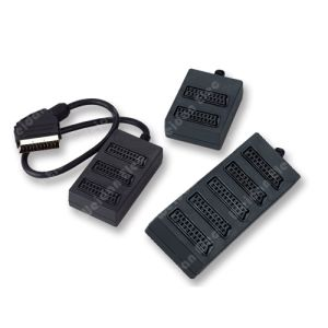 2way, 3way, 5way Scart Splitter Cable pictures & photos