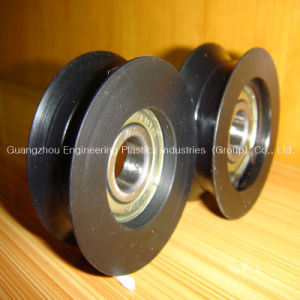 Injection Moulded Plastic PA6 Pulley pictures & photos